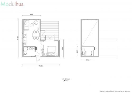 Villa Glimhem Plan