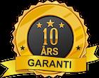 10 års garanti från modulhus