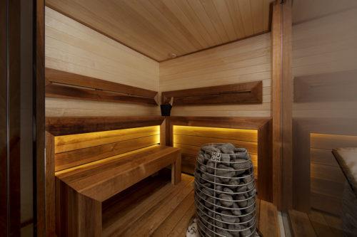Modulhus CLT Villa Bella Casa Sauna Bastu