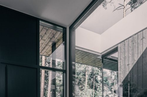 Modulhus CLT Villa Lyckorus Interiör Detailer