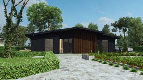 Modulhus CLT Villa Stinehill Produkt