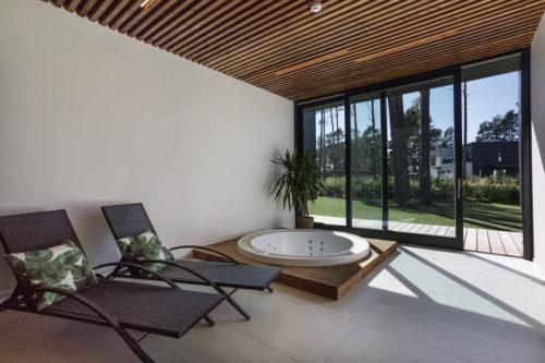 Modulhus CLT villa Bella Casa Interiör Sommar 3