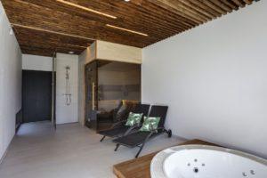 Modulhus Villa Jaapan Interior Lounge Sauna