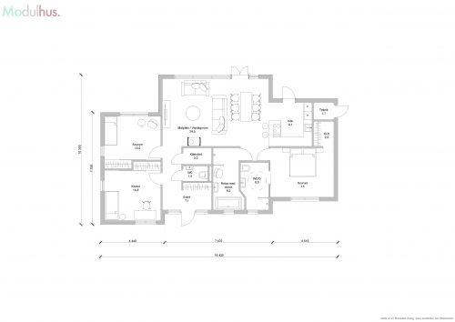 Stinehill 125 plan 1_med garage och privat badrum