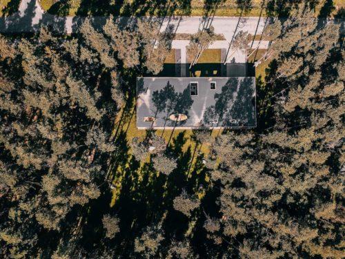 Villa Lyckorus Designhus CLT Drone 2