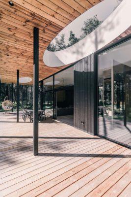 Villa Lyckorus Designhus CLT Hus Exteriör