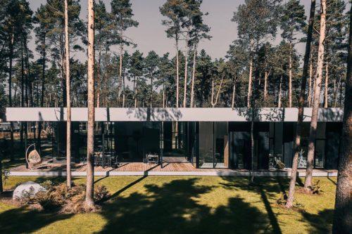 Villa Lyckorus Designhus Exteriör Wide