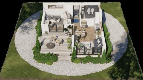 Villagilhem 3d-planritning
