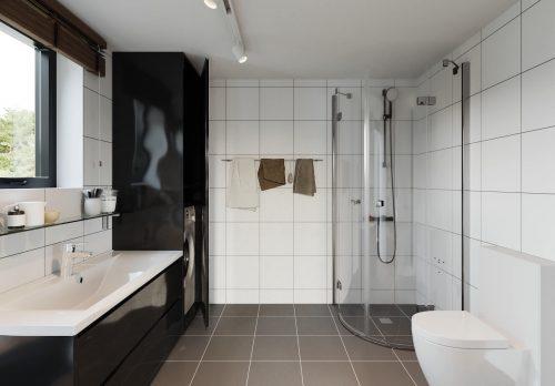 Fritidshus Villa Vårvinga 66kvm Badrum