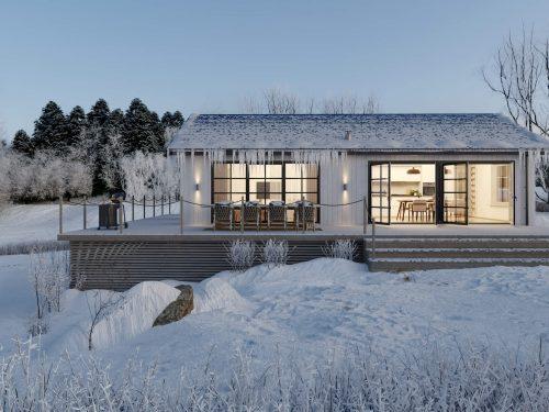 Villa Blanka 86kvm Exteriör Fasad