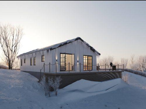 Villa Blanka 86kvm Fritidshus Modulhus