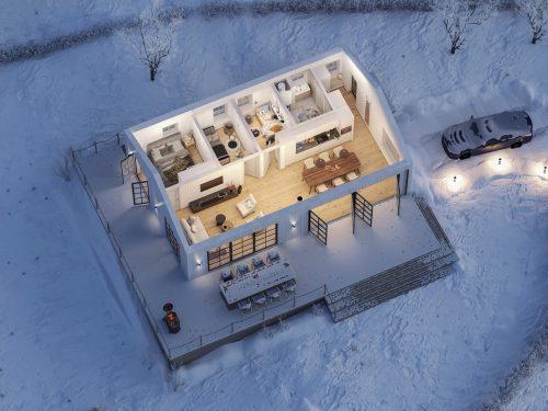 Villa Blanka Planlösning 1