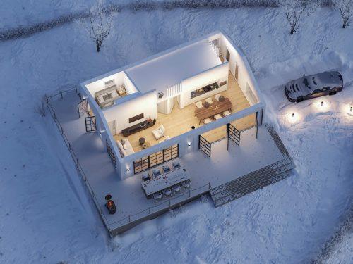 Villa Blanka Planlösning 2